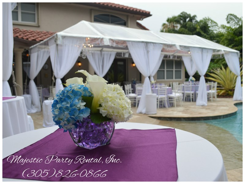 Majestic Party Rental - Wedding Tent Rentals - Hialeah, FL