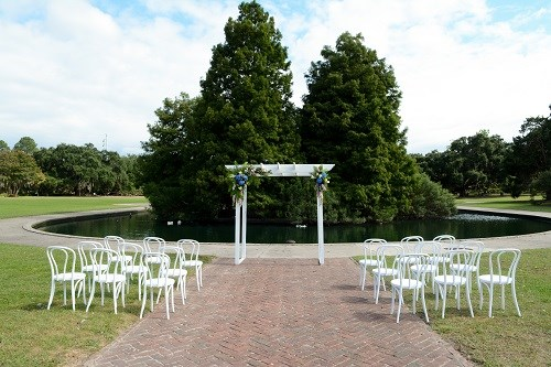 White Arbor + White Bentwood Chairs
