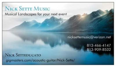Nick Sette | Lutz, FL | Acoustic Guitar | Photo #5