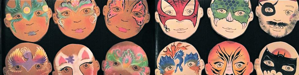 Jamie's Faces: Face Painting, Henna & Caricatures