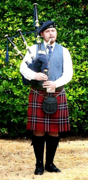 Jared Malone  - Bagpiper - Forney, TX