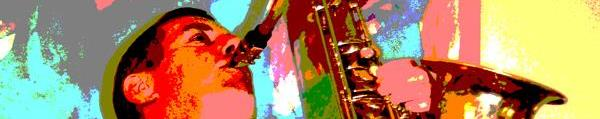 Dave Jones - Solo sax and jazz bands.