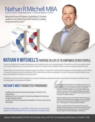 "Nathan R Mitchell - ""America's Empowerment Coach"" 