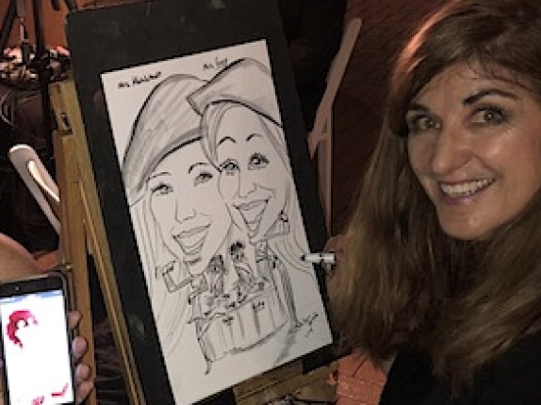 Caricatures and Silhouettes by Darci Herbold - Caricaturist - Los Angeles, CA