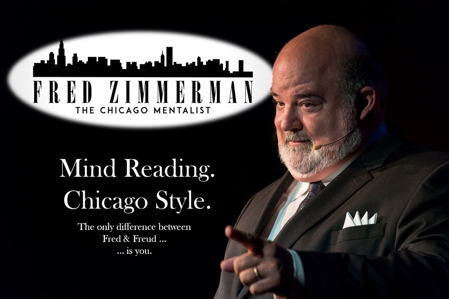 Fred Zimmerman - The Chicago Mentalist - Mentalist - Chicago, IL
