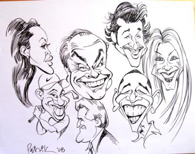 Caricatures By Patrick | Atlanta, GA | Caricaturist | Photo #8