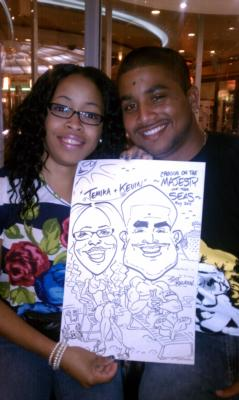 Sean Hyatt Art | Aurora, CO | Caricaturist | Photo #7