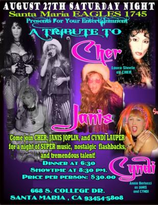 Cher and Friends | Escondido, CA | Cher Impersonator | Photo #9