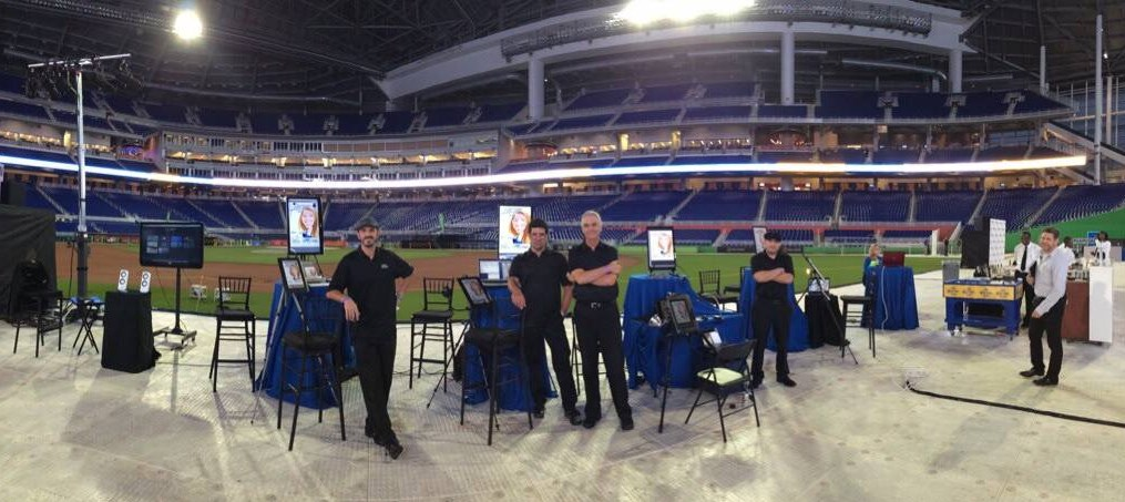 A digital gig at Marlin's Park