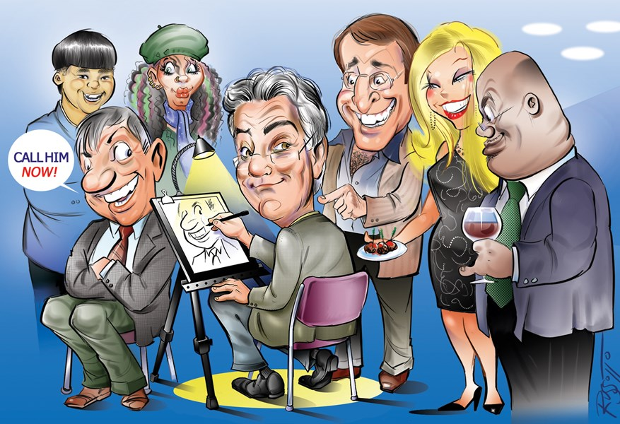 Caricatures by Ray Russotto - Caricaturist - Deerfield Beach, FL