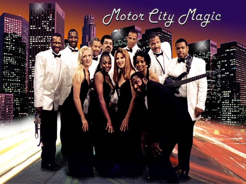 Motor City Magic - Motown Band - Los Angeles, CA