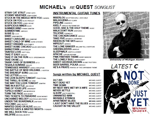 Michael Quest - Rock One Man Band - Glendale, CA