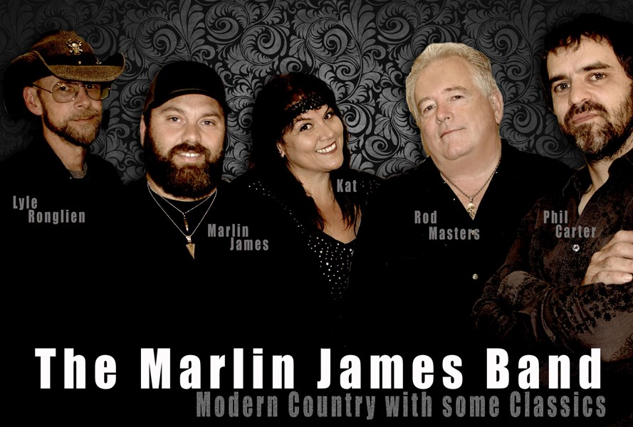 The Marlin James Band - Country Band - Seattle, WA