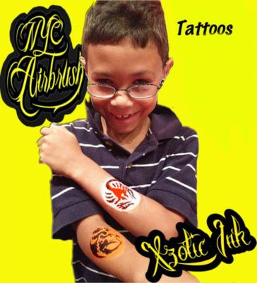 NYC Airbrush Tattoos | New York City, NY | Temporary Tattoos | Photo #21