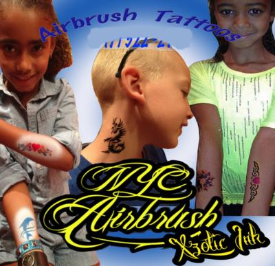 NYC Airbrush Tattoos | New York City, NY | Temporary Tattoos | Photo #22