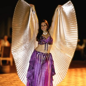 Tampa Folk Dancer | Gimme Shimmy~Belly Dance By Maria