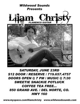 Lliam Christy | Saint Louis, MO | Flamenco Guitar | Photo #5