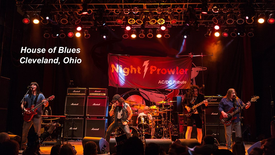 Ac/dc Tribute Band - Night Prowler - AC/DC Tribute Band Cleveland, OH