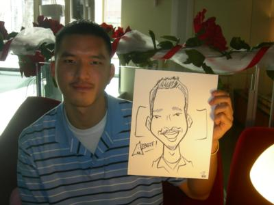 Caricatures By Lou | Seattle, WA | Caricaturist | Photo #4