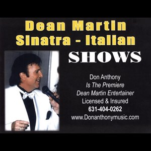 Long Island Tribute Band | Frank Sinatra Entertainer - Don Anthony
