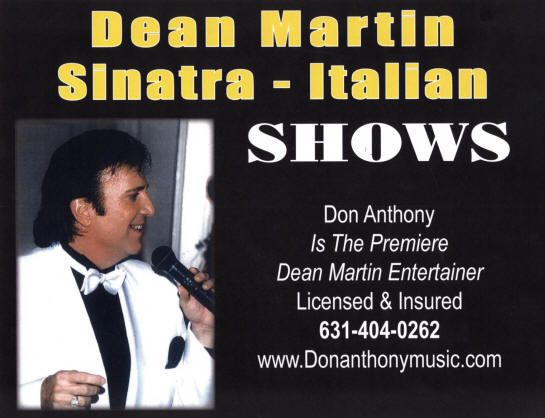 Frank Sinatra and Dean Martin Entertainer - Frank Sinatra Tribute Act - New York City, NY