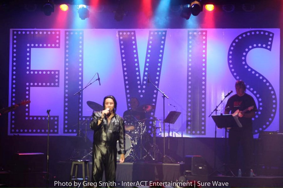 Elvis Presley Impersonator Shawn Hughes