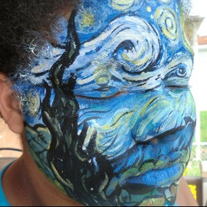 Aurora Face Painter | Party Picassos Face & Body Painting