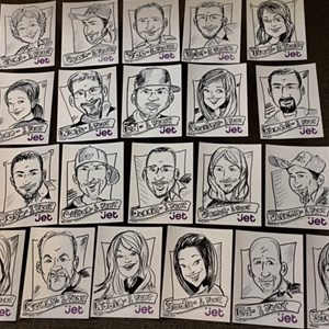 Overland Park Caricaturist | Caricatures By The Fine Tooners And More!!