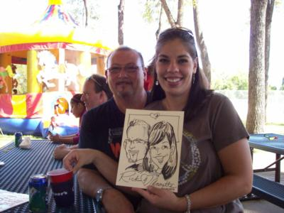 Caricatures By The Fine Tooners And More!! | Overland Park, KS | Caricaturist | Photo #6