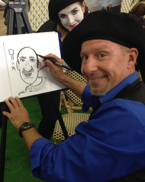 Mark Z-Man Caricatures - Caricaturist - Brooklyn, NY