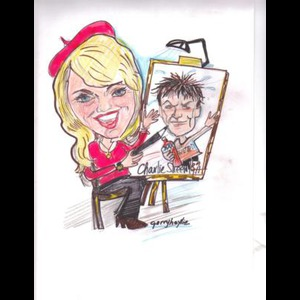 Kintnersville Silhouette Artist | The Hollywood Caricaturist