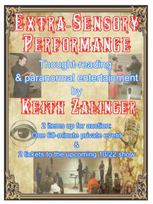 Keith Zalinger (Extra-Sensory Performance) | Branford, CT | Psychic | Photo #4