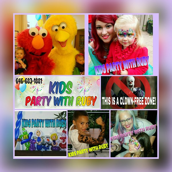 Kids Party With Ruby  - Face Painter - Ridgewood, NY