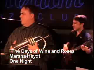 Marsha Heydt And The Project Of Love | Long Island City, NY | Jazz Ensemble | The Days Of Wine and Roses.