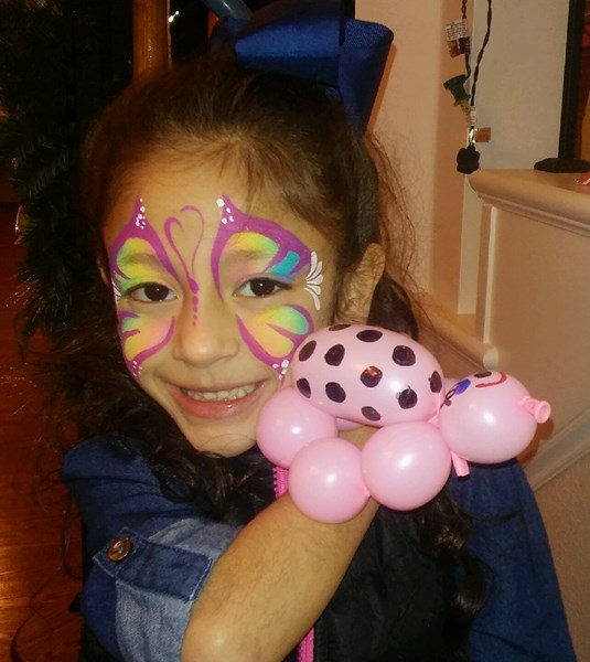 Bearry Cute Balloons & Awesome Face Painting - Face Painter - Lancaster, TX