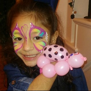 Lancaster, TX Face Painter | Bearry Cute Balloons & Awesome Face Painting