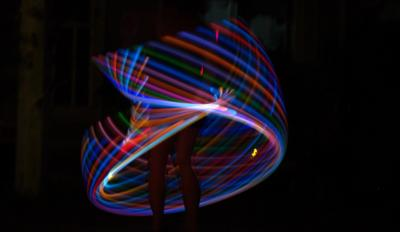Echo Hoops | Santa Cruz, CA | Hula Hoop Dancer | Photo #1