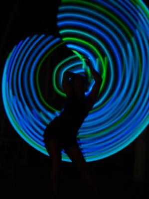 Echo Hoops | Santa Cruz, CA | Hula Hoop Dancer | Photo #2