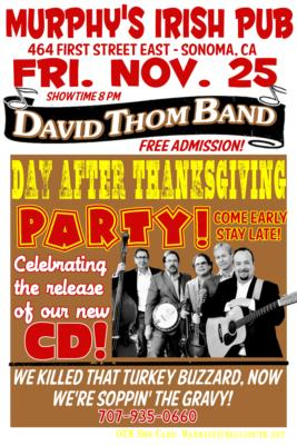 David Thom Band | Sonoma, CA | Bluegrass Band | Photo #12