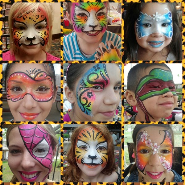 Face Painting By Elisabeth - Face Painter - San Antonio, TX