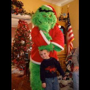 Santa & The Grinch - Santa Claus - McKinney, TX