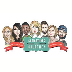 Atlantic City Caricaturist | Caricatures By Courtney