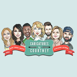 Ocean Gate Caricaturist | Caricatures By Courtney