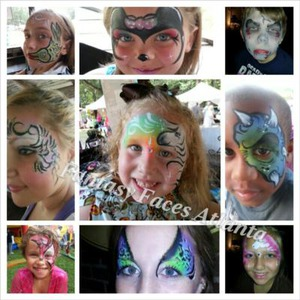 Butterfly Brushes - Face Painter - Fayetteville, GA