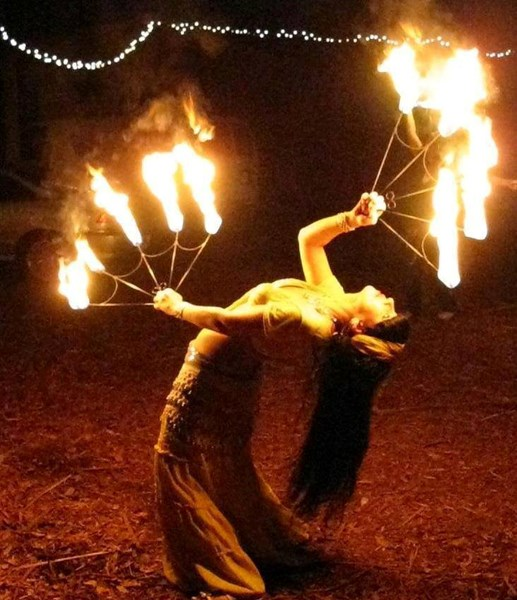 MAD Flames Fire Entertainment  - Fire Dancer - Clearwater, FL