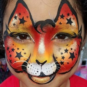 South Florida, FL Face Painter | KittyLuv's Purrfect Faces, LLC.