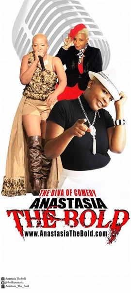 "Anastasia ""the Bold"" Bolden - Stand Up Comedian - Dallas, TX"