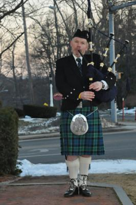 Highland Wedding | Framingham, MA | Bagpipes | Photo #1
