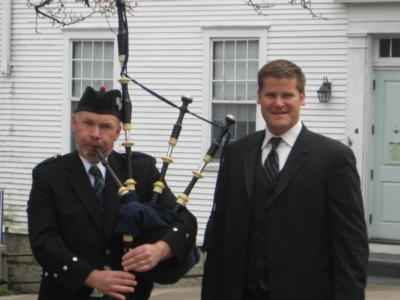 Highland Wedding | Framingham, MA | Bagpipes | Photo #2
