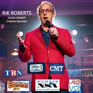 Kansas City, KS Clean Comedian | Rik Roberts :: Clean Comedy & Creative Keynotes!